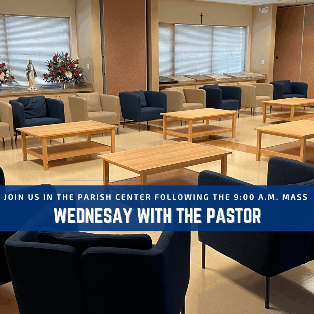 Wednesday with the Pastor